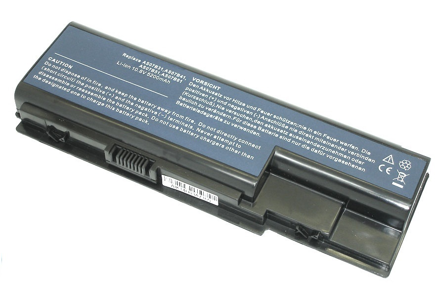 Аккумулятор Acer Aspire 5310, 5315, 5520, 5710, 5920, 6920, 7330, 7720, 8730, 8920, (AS07B31), 4400mAh, 11.1V